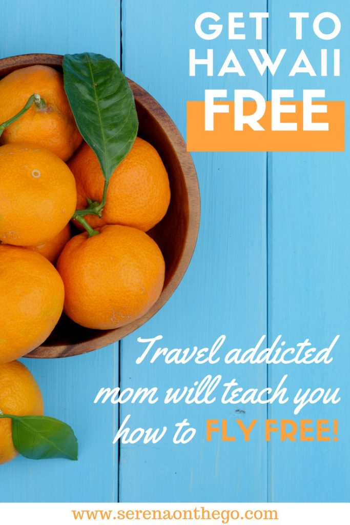 Learn to fly FREE to Maui Hawaii using travel hacking airfare tricks
