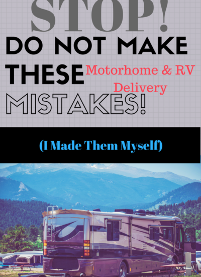 Thinking about purchasing an RV or motorhome? Already bought one? DON'T make the same Pre-Delivery Inspection (PDI) mistakes we made!
