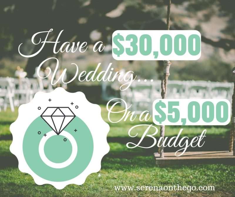 Having A Wedding Doesnt Have To Put A Couple In Debt Plan A Memorable 30000 Wedding On A