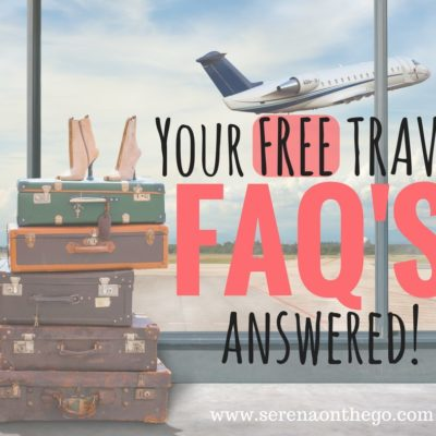 Your FREE TRAVEL and Free Airfare Questions FAQs Answered