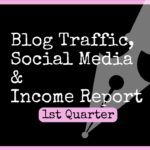 1st Quarter (April-July 2017) Blog Traffic, Income & Social Media Report