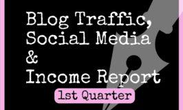 1st Quarter (April-July 2017) Blog Traffic, Income & Social Media Report