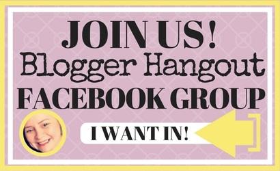 join blogger hangout facebook group